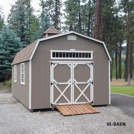 Featured Sheds & Rockwood Sheds Hamilton Montana | Affordable Quality Storage Sheds
